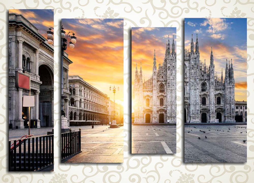 Модульная картина Милан (Италия)