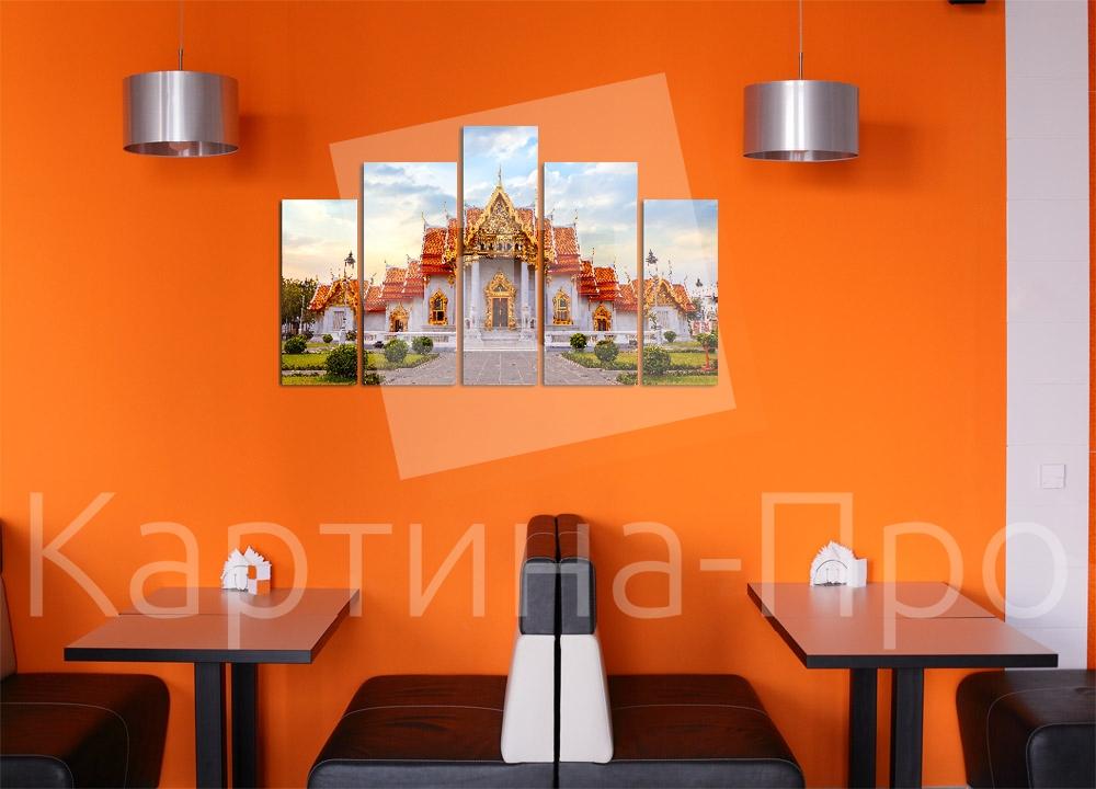 Модульная картина Яркий Бангкок от Kartina-Pro
