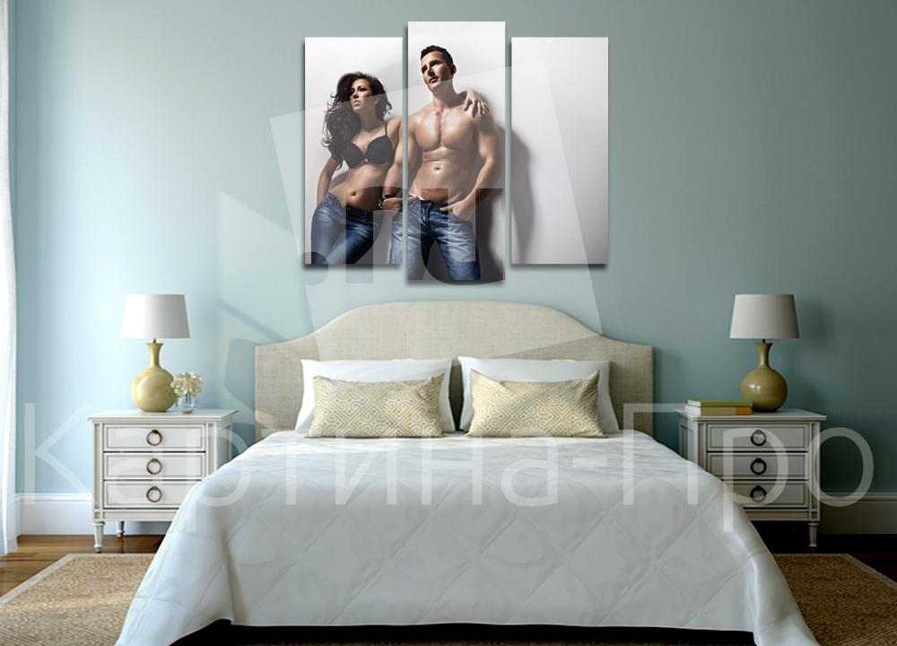 Модульная картина Мужчина и женщина от Kartina-Pro