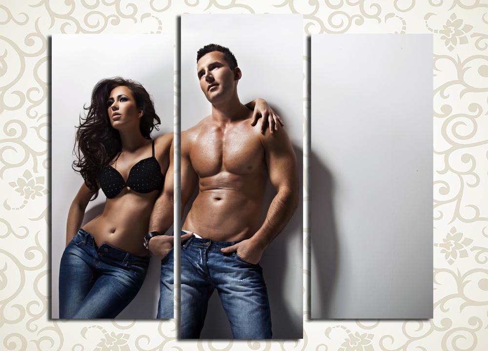Модульная картина Мужчина и женщина