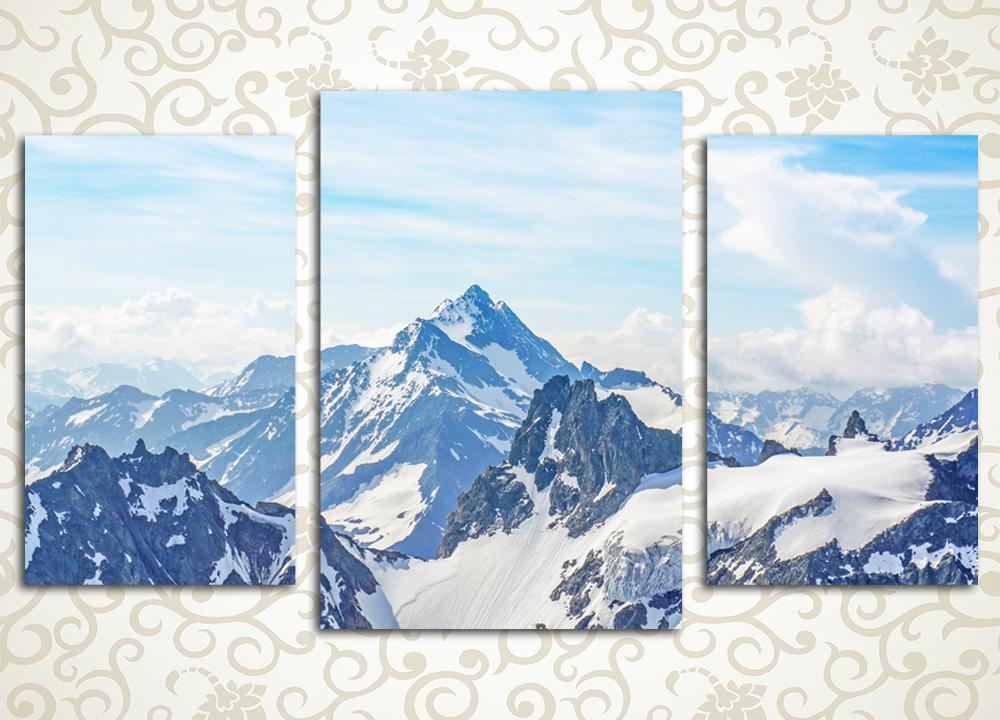Модульная картина Великолепие гор