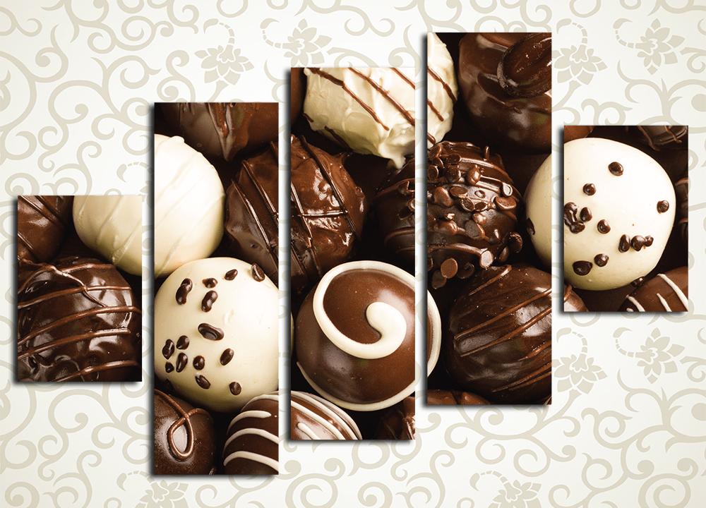 Модульная картина Аппетитный шоколад
