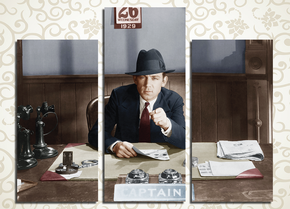 Модульная картина Капитан полиции, 1929