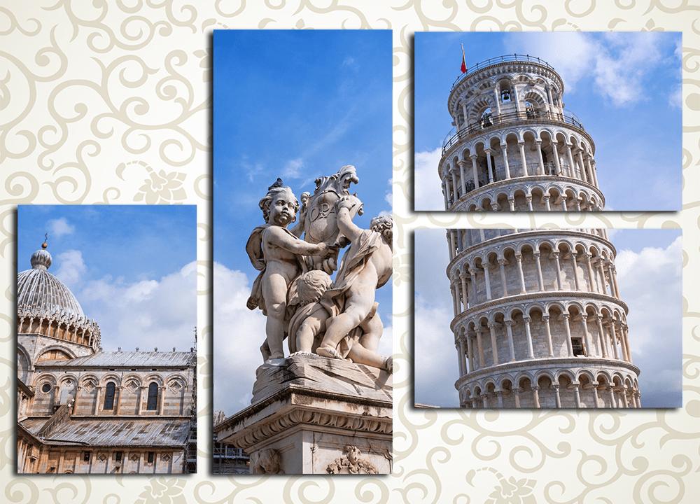 Модульная картина Пиза (Италия)
