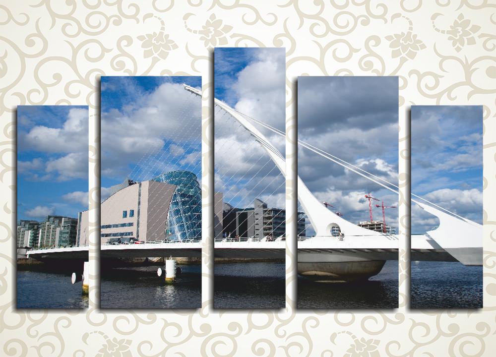 Модульная картина Дублин