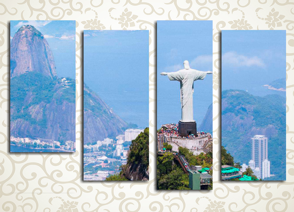Модульная картина Рио-де-Жанейро