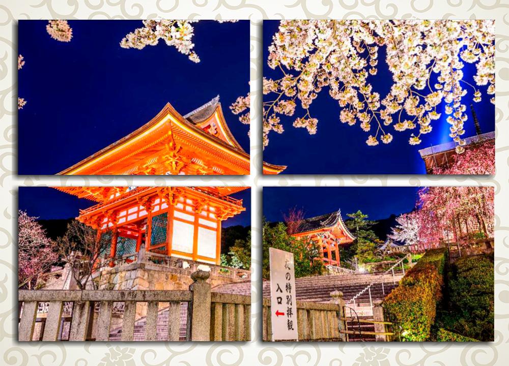 Модульная картина Ночной Токио (Япония)
