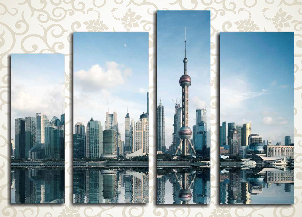 Модульная картина Шанхай (Китай)